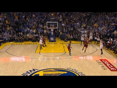 Steph Curry Beats The Halftime Buzzer on...