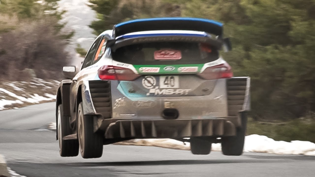 WRC 2020: Rallye Monte-Carlo - Friday Action from Special Stage 4/7!
