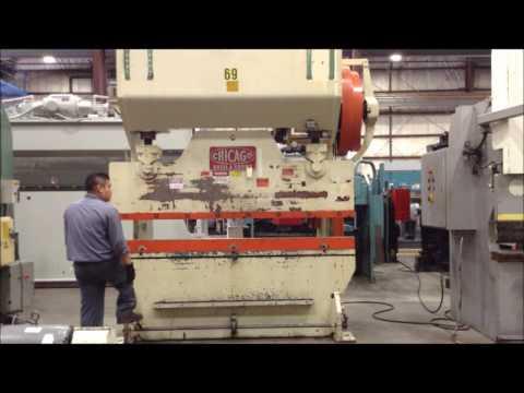 "Used 6' x 1/4"" Dreis & Krump Press Brake, #26859"