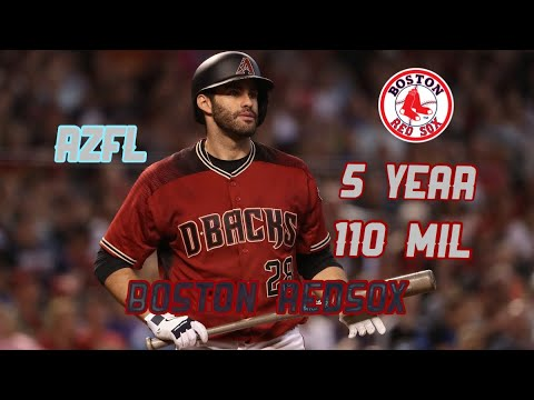 JD Martinez Signs A 5 Year Deal With The Boston RedSox