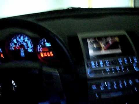 04 Nissan Maxima With Blue Led Conversion Youtube