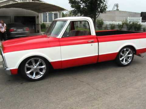 Restored 71 Chevy C10 With Cadillac 472 Motor For Sale