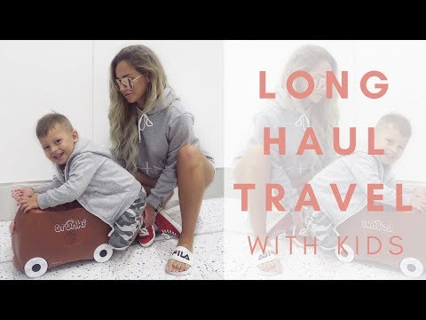 LONG HAUL TRAVEL | WITH KIDS | Lucy Jessica Carter