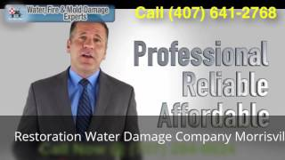 Restoration Water Damage Company Morrisville NC (919) 251-6644