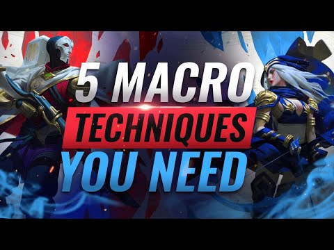 5 GAME-WINNING Macro Techniques That Make A HUGE DIFFERENCE - League Of Legends Season 10