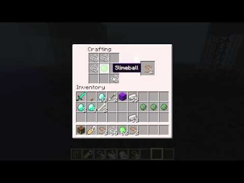 How Do You Make A Lead In Minecraft >> Minecraft - How to make a Lead - YouTube