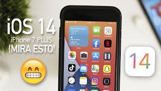 iOS 14 En iPhone 7 Plus / Mira Esto Antes De Actualizar!
