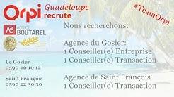 Orpi Guadeloupe - Agence Boutarel Saint François et le Gosier Recrute