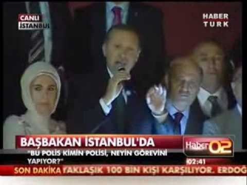 PM Erdogan's legendary speech in İstanbul Airport