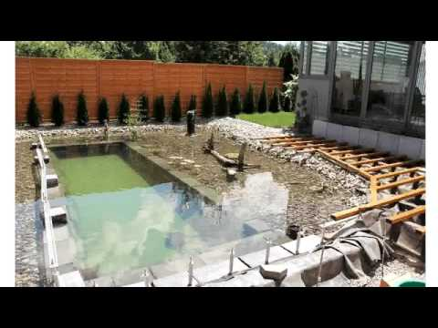 Diy Swimming Pond In Your Home Backyard Youtube Youtube