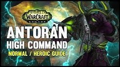 Antoran High Command Normal + Heroic Guide - FATBOSS