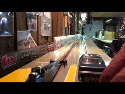 Bracket final 1/7/15 storm dragway slot car drag racing