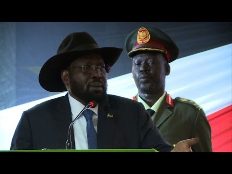 South Sudan's President Kiir declares unilateral ceasefire