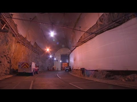 What's really hiding under Cheyenne Mountain in Colorado?