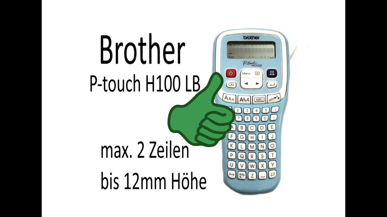 5x DRUCKER BESCHRIFTUNGSBAND 12mm für BROTHER P-Touch H100LB