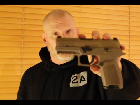 Article II Industries loves the Sig Sauer P320 Carry, in FDE