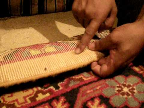 Demonstrating the strength and durability of Hotan carpets