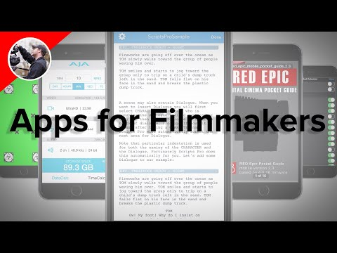 The Best Apps for Filmmakers
