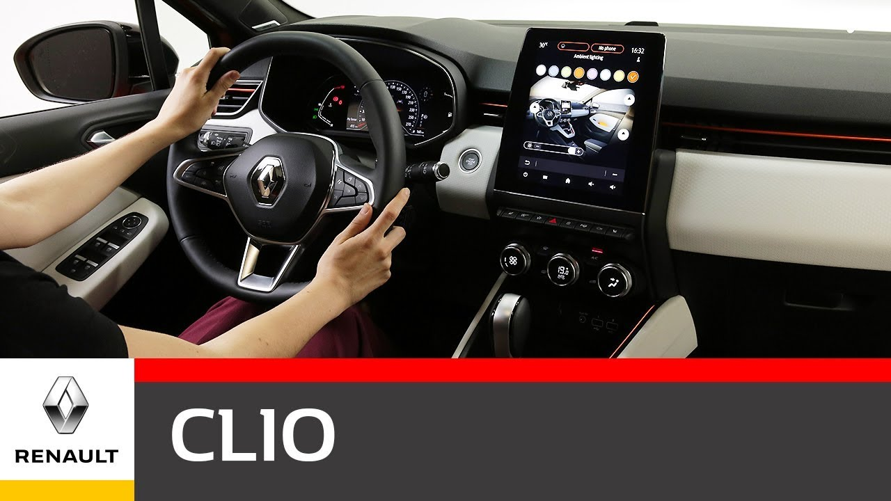 Renault Clio 5 Interior Video Portugues