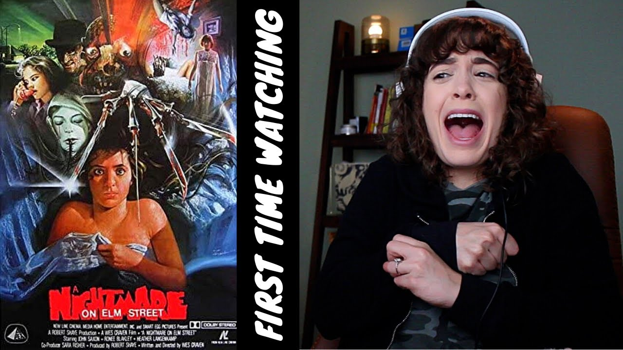 Download A NATMARE ON ELM STREET!! (scared girl watches slasher film)
