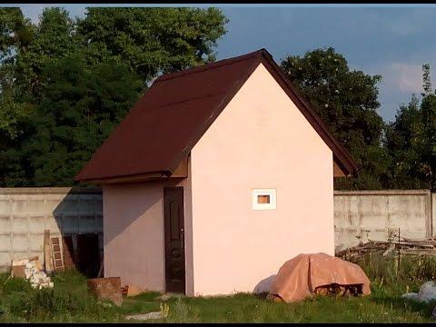 видео: Как построить сарай одному за месяц.