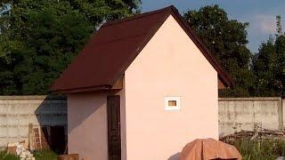 Как построить сарай одному за месяц.(Строительство нашего дома начиналось со строительства сарайчика из блоков, вся работа производилась в..., 2015-05-22T04:48:11.000Z)