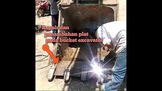 Repair bucket excavator