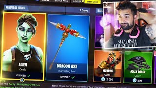 SEASON 3 ALIEN SKINS coming to Fortnite: Battle Royale..!?