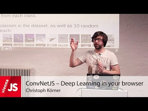 ConvNetJS – Deep Learning in your browser