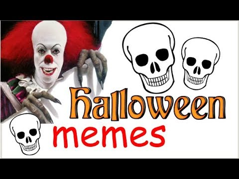 funny halloween memes 2017best halloween memespennywise spooky scary skeletons