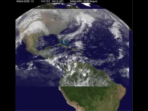 Satellite Animation Shows Landfall of Hurricane Otto in Nicaragua