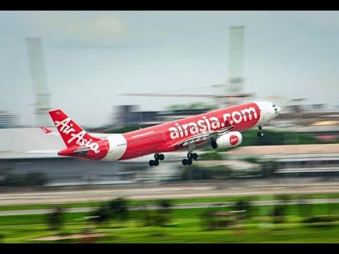 Air Asia / Bali to Lombok en-route to The Gili Islands / Full Journey