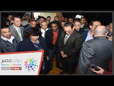 افتتاح قصر ثقافة ديرب نجم بعد تطويره بحضور الوزيرة  - 17:54-2019 / 3 / 24