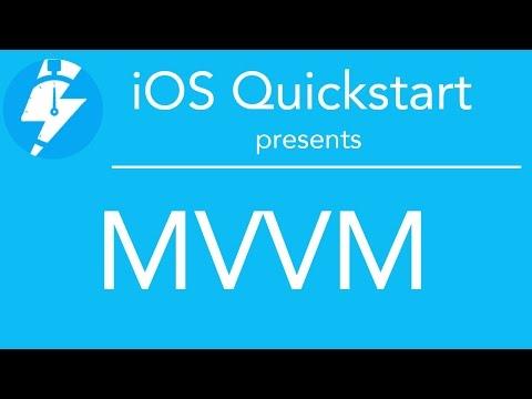 iOS Quickstart - MVVM