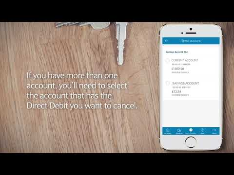 The Barclays App | How To Cancel Direct Debits