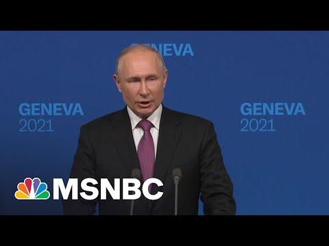 Putin: Talks With Biden Were 'Quite Constructive' | MSNBC