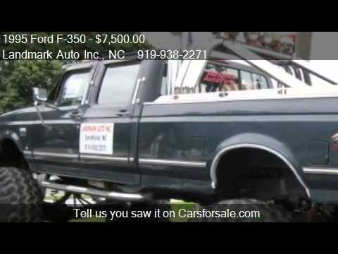 1995 ford f 350 xl crew cab 4wd for sale in smithfield nc. Black Bedroom Furniture Sets. Home Design Ideas