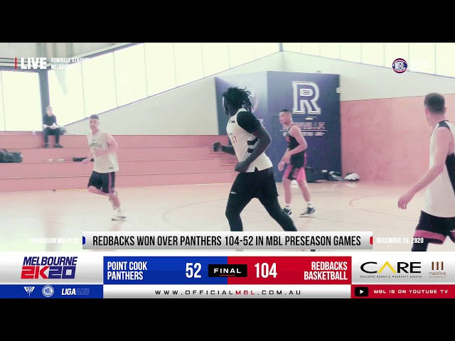 MBL 2K20 Preseason- Redbacks VS Panthers