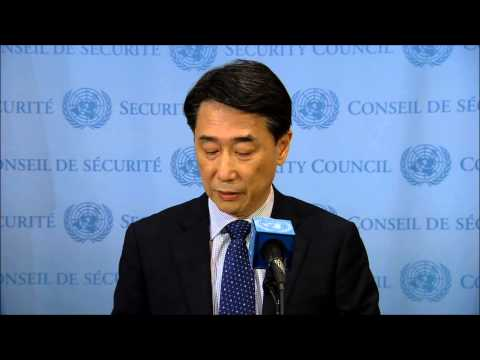 UNSC Prez on Nigeria Boko Haram Tells Press No ICC in Statement, No Right to Reply in UNSC