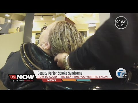 Stroke danger at beauty salons