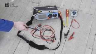 Installation Test Equipment - Hull College Electrical