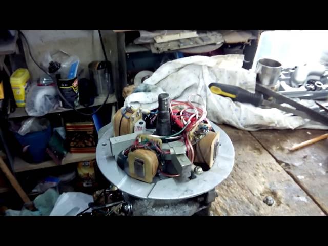 электронное зажигание ветерок 12 видео установка