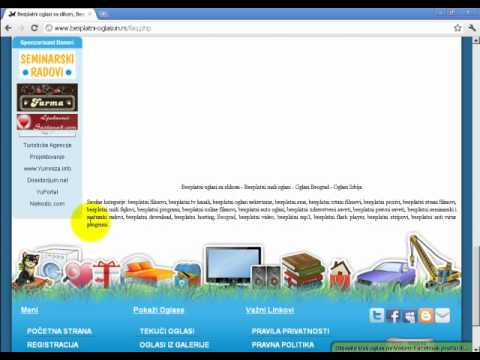 južnoafrička stranica za pronalaženje slobodnih stranica