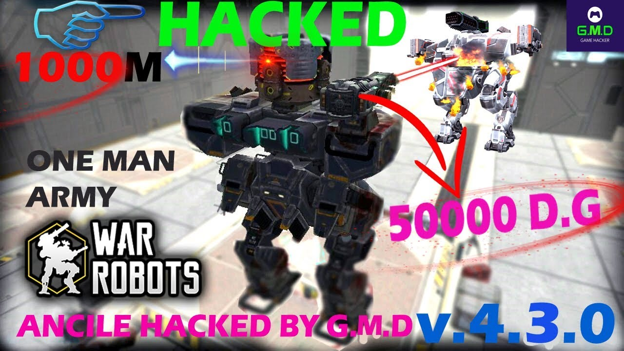 War robots unlimited ammo bullet missiles ver 4.2.0 hack by ... -