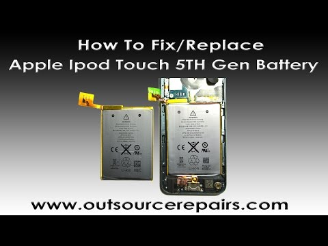 How To Replace Fix Apple Ipod Touch 5th Gen Battery