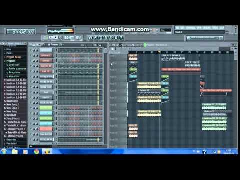 Basshunter - Boten Anna Professional Project FL Studio 11