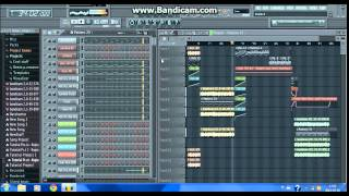 Basshunter - Boten Anna Professional Project FL Studio 11