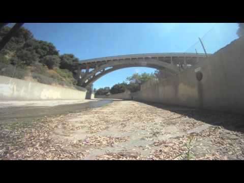 Timelapse: Arroyo Seco Creekbed Ride