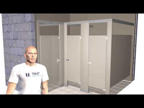 Toilet Partition Installation
