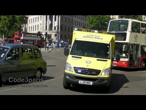 London Ambulance Service + St. John CATS (Collection)